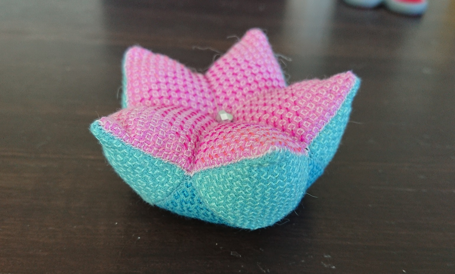 How to make a 15 sided biscornu pincushion