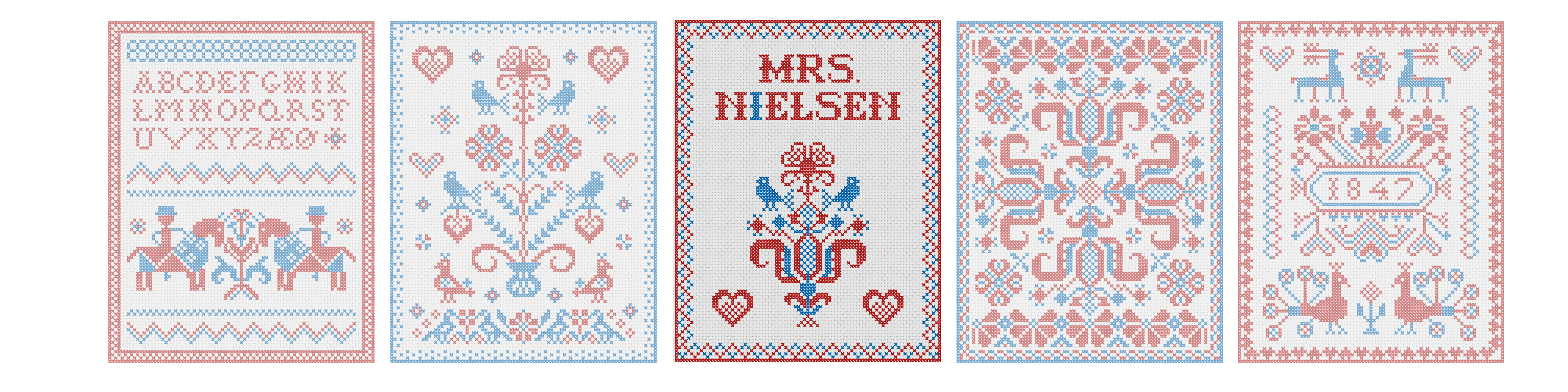 Mrs. Nielsen Embroidery