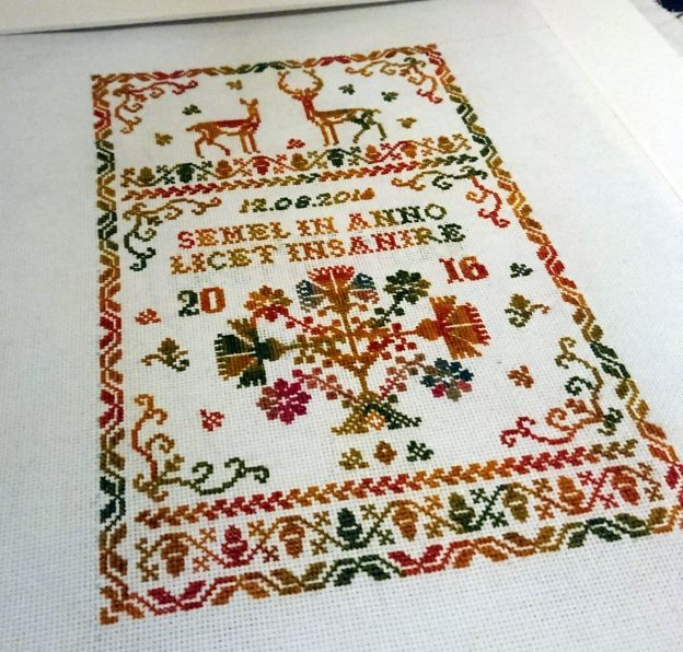 Mrs Nielsen Embroidery Scandinavian Cross Stitch Embroidery